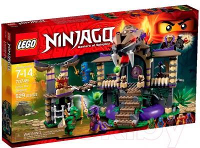 Конструктор Lego Ninjago Храм Клана Анакондрай (70749) - упаковка