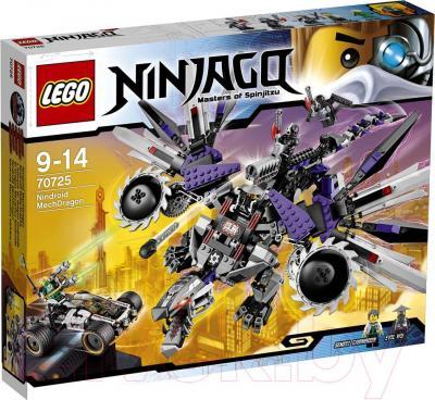 Конструктор Lego Ninjago Дракон-ниндроид (70725) - упаковка