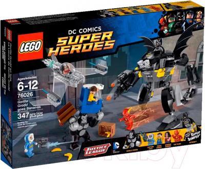 Конструктор Lego Super Heroes Горилла Гродд сходит с ума (76026) - упаковка