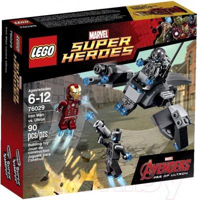 Конструктор Lego Super Heroes Железный человек против Альтрона (76029) - упаковка