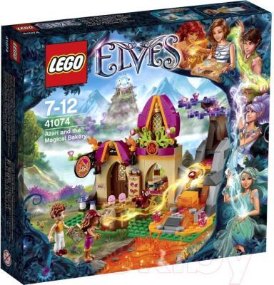 Конструктор Lego Elves Волшебная пекарня Азари (41074) - упаковка