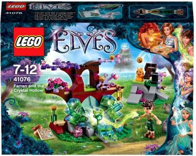 Конструктор Lego Elves Фарран и Кристальная Лощина (41076) - упаковка