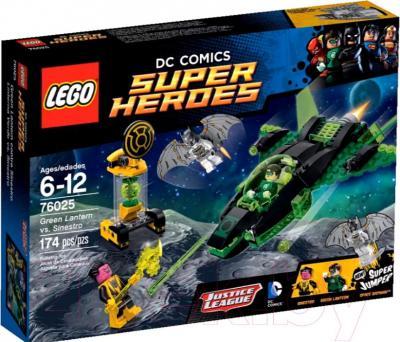 Конструктор Lego Super Heroes Зеленый Фонарь против Синестро (76025) - упаковка