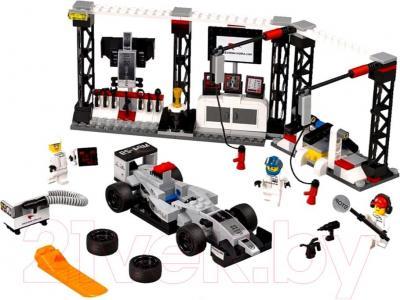 Конструктор Lego Speed Champions Пункт техобслуживания McLaren Mercedes (75911) - общий вид