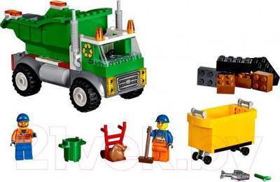 Конструктор Lego Juniors Мусоровоз (10680) - общий вид