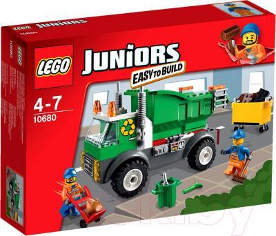 Конструктор Lego Juniors Мусоровоз (10680) - упаковка