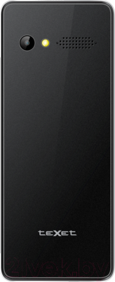 Мобильный телефон TeXet TM-D225 (черный + сетевое ЗУ) - вид сзади