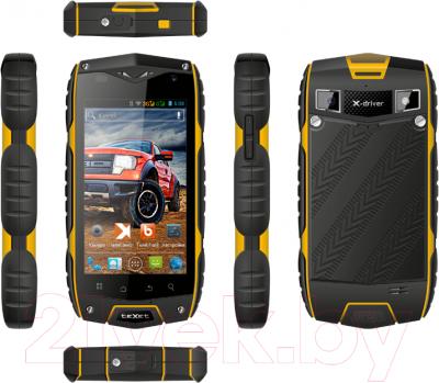Смартфон TeXet X-driver / TM-4104R (черно-желтый + внешний АКБ) - полный обзор панелей
