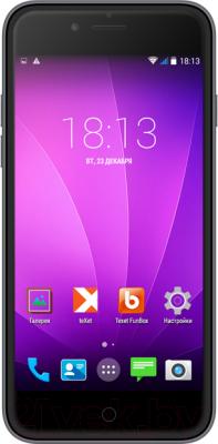 Смартфон TeXet iX-maxi / TM-4982 (серебристый + АЗУ) - общий вид