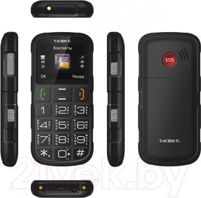 Мобильный телефон TeXet TM-B113 (черный + автомобильное ЗУ) - полный обзор панелей