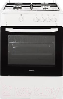 Кухонная плита Beko CSG 62010 W - общий вид