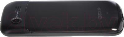 Мобильный телефон DEXP Larus M1 (черный) - вид сбоку