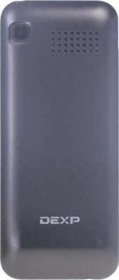 Мобильный телефон DEXP Larus M2 (серый) - вид сзади