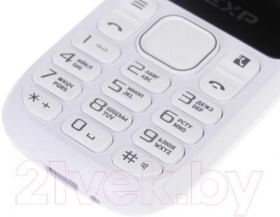 Мобильный телефон DEXP Larus E1 (белый) - кнопки