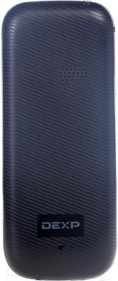 Мобильный телефон DEXP Larus E1 (черный) - вид сзади