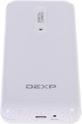 Мобильный телефон DEXP Larus E3 (белый) - вид снизу