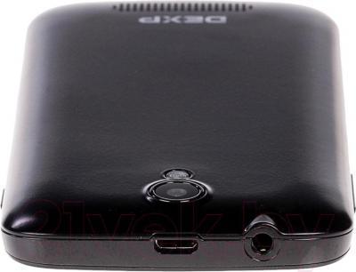 """Смартфон DEXP Ixion M 3.5"""" (черный) - вид сверзу"""