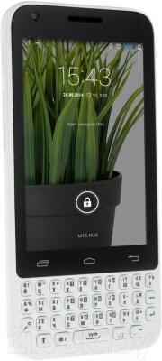 """Смартфон DEXP Ixion MQ 3.5"""" (белый) - общий вид"""