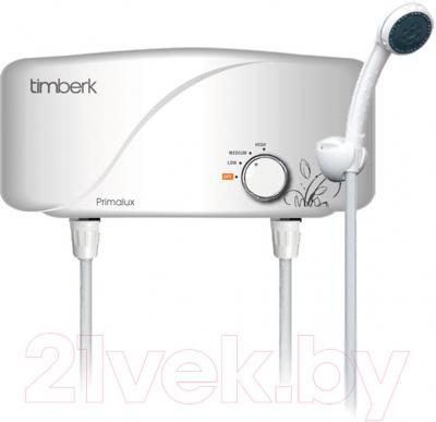 Проточныйводонагреватель Timberk WHEL-7 OS - водонагреватель с душем