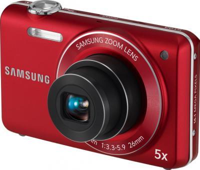 Компактный фотоаппарат Samsung ST93 (EC-ST93ZZBPRRU) Red - общий вид