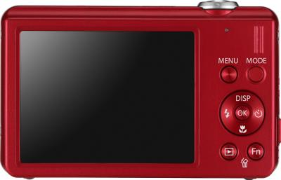 Компактный фотоаппарат Samsung ST93 (EC-ST93ZZBPRRU) Red - вид сзади