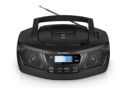 Магнитола SoundMax SM-2406 - вид спереди