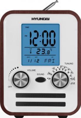 Радиоприемник Hyundai H-1626 (Dark Wood) - общий вид