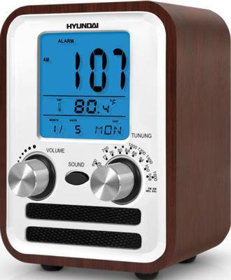 Радиоприемник Hyundai H-1626 (Dark Wood) - вид сбоку