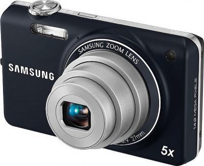 Компактный фотоаппарат Samsung ST65 (EC-ST65ZZBPURU) Dark Blue - Вид спереди