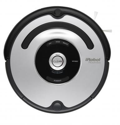 Робот-пылесос iRobot Roomba 555 - вид  спереди