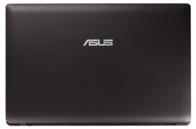 Ноутбук Asus X53BY-SX152 - сверху