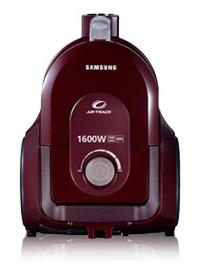 Пылесос Samsung SC4336 (VCC4336V3W/XEV Dark Red) - вид спереди