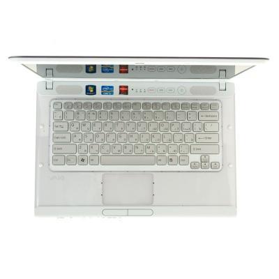 Ноутбук Sony VAIO VPCCA3S1R/W - сверху