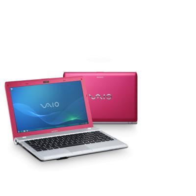 Ноутбук Sony VAIO VPCYB3Q1R/P - спереди и сзади