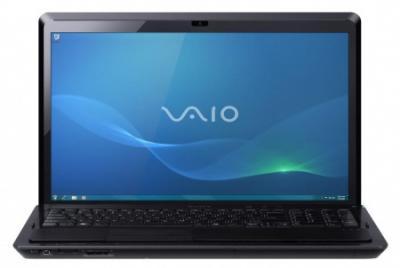 Ноутбук Sony VAIO VPCSE1X1R/B - спереди