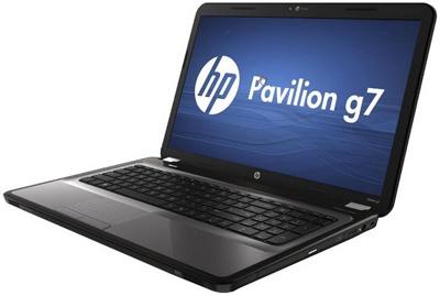 Ноутбук HP Pavilion g7-1255er (A4C85EA) - сбоку
