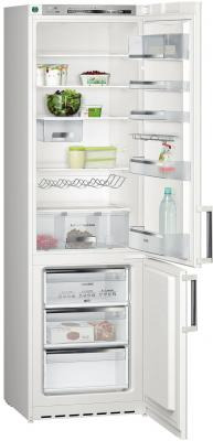 Холодильник с морозильником Siemens KG39EX35 - Вид спереди