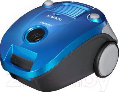 Пылесос Samsung VCC4140V38/XEV (синий) - общий вид