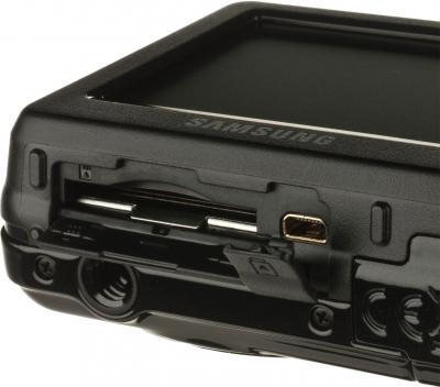 Компактный фотоаппарат Samsung ES9 (EC-ES9ZZZBABRU) Black - вид части