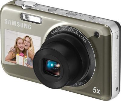Компактный фотоаппарат Samsung PL120 Silver - общий вид