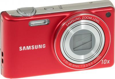 Компактный фотоаппарат Samsung PL210 (EC-PL210ZBPRRU) Red - общий вид