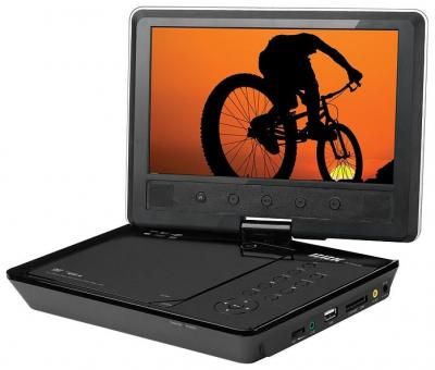 Портативный DVD-плеер BBK DL9042SI Black - общий вид