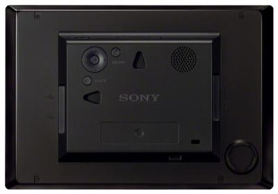 Цифровая фоторамка Sony DPF-HD800 - вид сзади