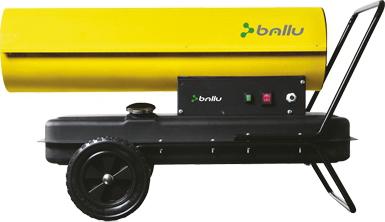 Тепловая пушка Ballu BHD-63 S - общий вид