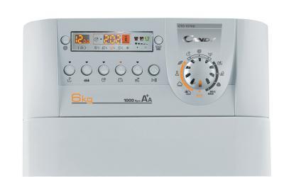 Стиральная машина Candy CTD10762-07S - панель управления