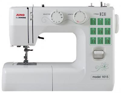 Швейная машина Janome Juno 1615 - вид спереди