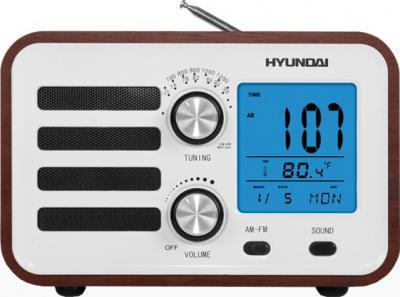 Радиоприемник Hyundai H-1628 (Dark Wood) - общий вид