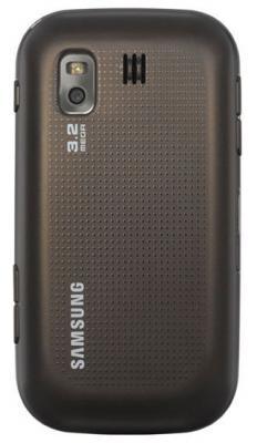 Мобильный телефон Samsung B5722 Brown - задняя панель