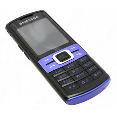 Мобильный телефон Samsung C3011 Black with Blue (GT-C3011 EBASER) - общий вид