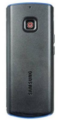 Мобильный телефон Samsung C3011 Black with Blue (GT-C3011 EBASER) - задняя панель